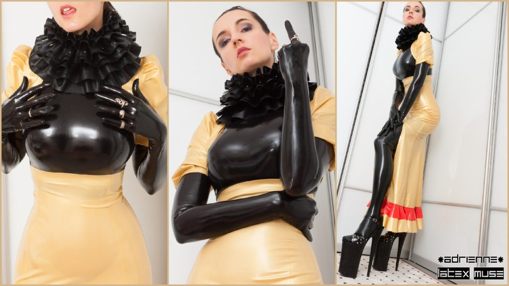 Adrienne latex muse