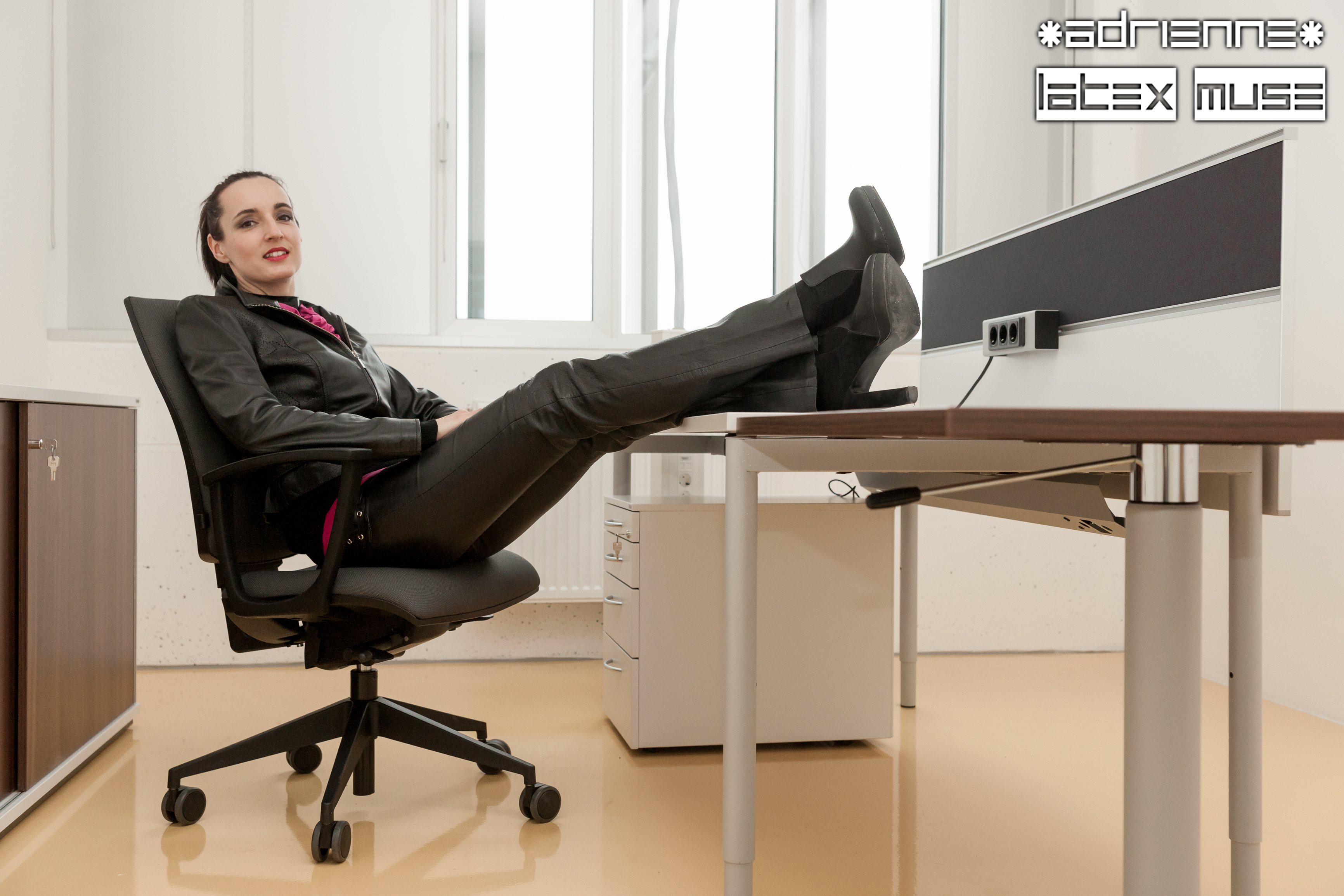 2016 - Leather in office