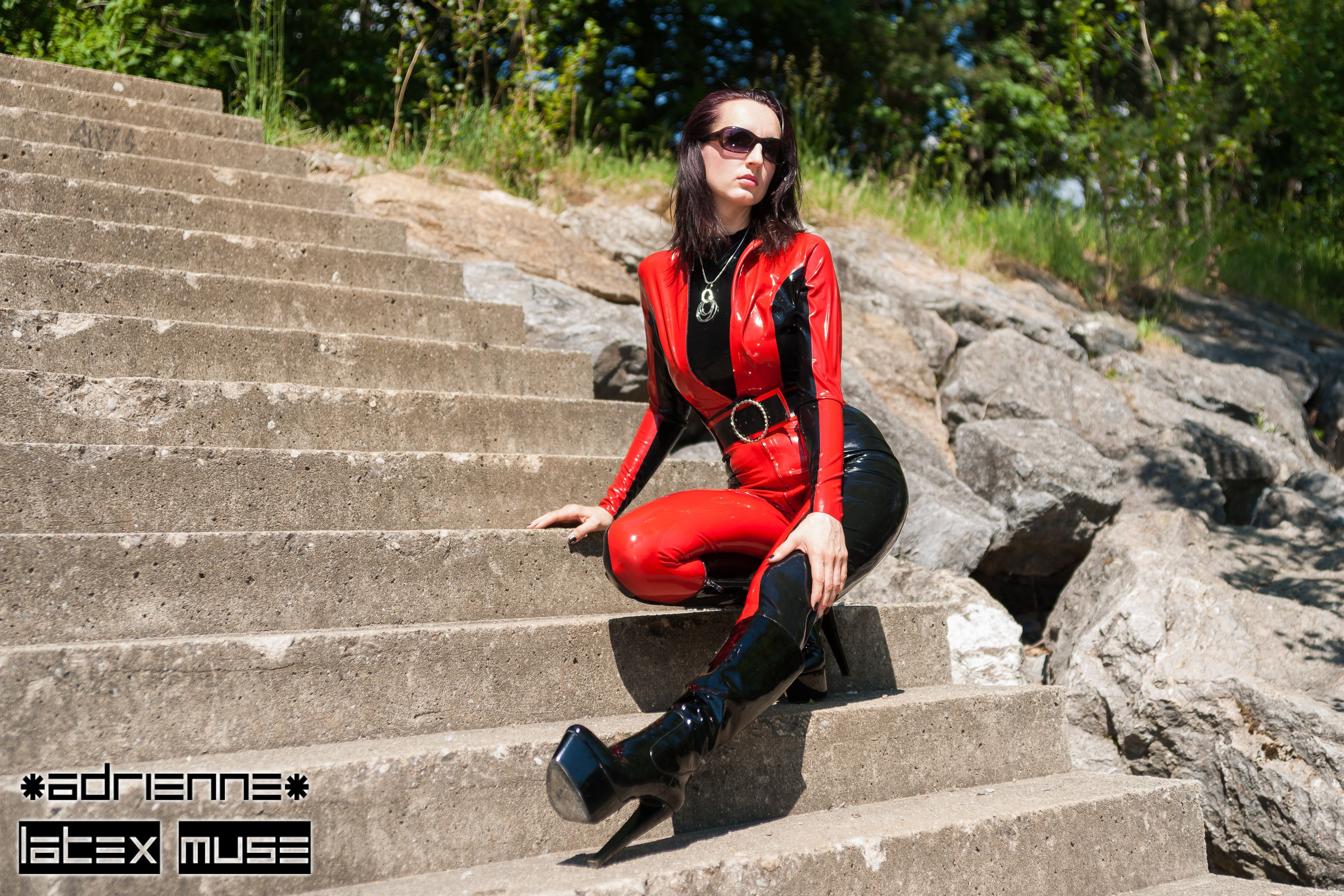 2017 - Red catsuit